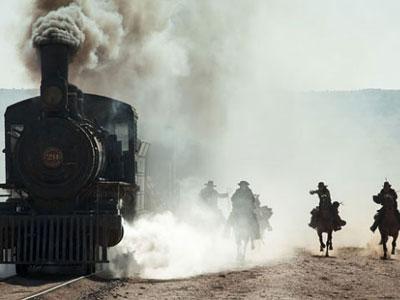 Wow, Adegan Action Kereta di Lone Ranger Asli