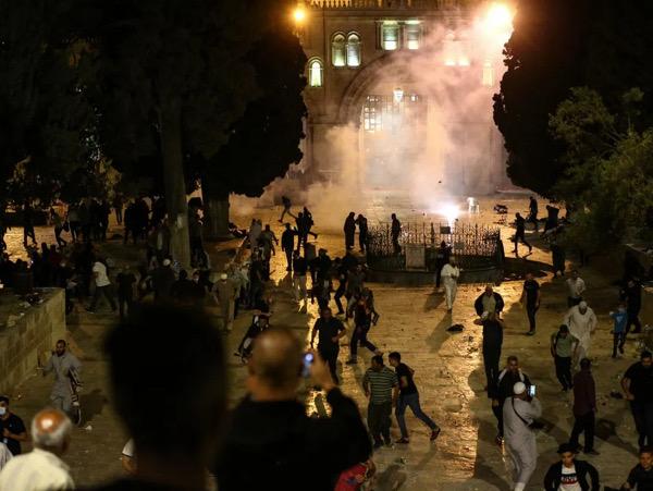 Melihat Konflik Panas Penyerangan Masjid Al Aqsa Palestina Oleh Israel