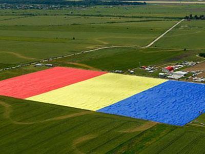 Wow, Rumania Miliki Bendera Terbesar di Dunia