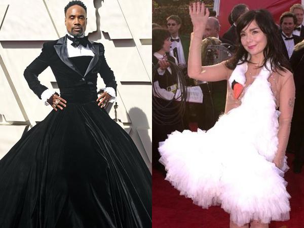Aneh, 8 Busana Red Carpet #Oscars Ini Bikin Gagal Paham Sepanjang Masa