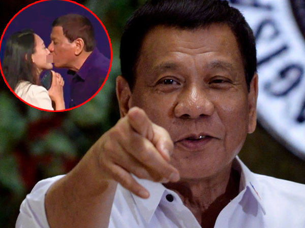 Seperti Ini Pengakuan Wanita yang Dicium Bibir oleh Presiden Filipina di Depan Publik Korsel