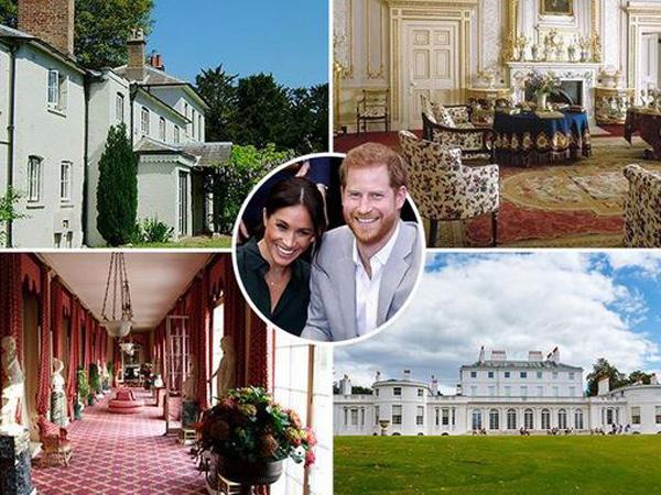 Gunakan Uang Pajak hingga Rp 43 Miliar, Ini Detail Renovasi Rumah Meghan Markle-Pangeran Harry