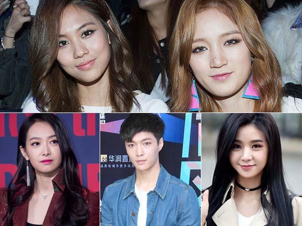 Netizen Kecewa 5 Idola K-pop Asal Tiongkok Ini Turut Dukung Kontroversi Laut Cina Selatan