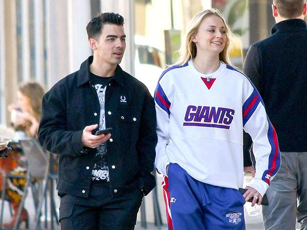 Dikabarkan Hamil, Sophie Turner dan Joe Jonas Ketahuan Belanja Baju Bayi