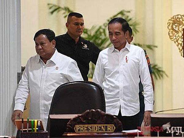 Pembelaan dan Peringatan Jokowi untuk Prabowo yang Sering Ke Luar Negeri: Jangan Ada Mark Up!