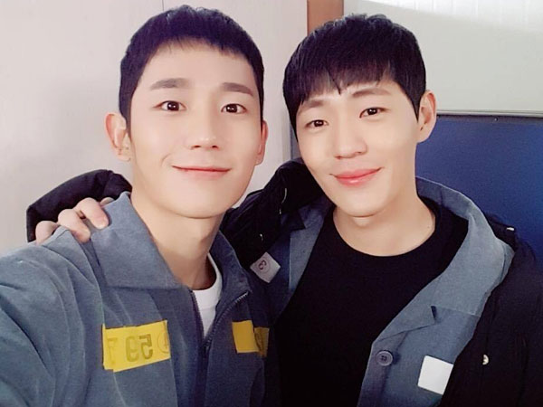 Jung Hae In dan Shin Jae Ha 'While You Were Sleeping' Reunian di Penjara
