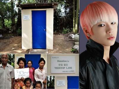 Penggemar Teen Top Bikin Kamar Mandi Buat Kamboja