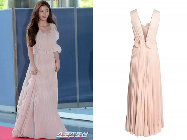 Kim Yoo Jung Tetap Mempesona dengan Balutan Dress 'Murah' di Baeksang Awards 2017!