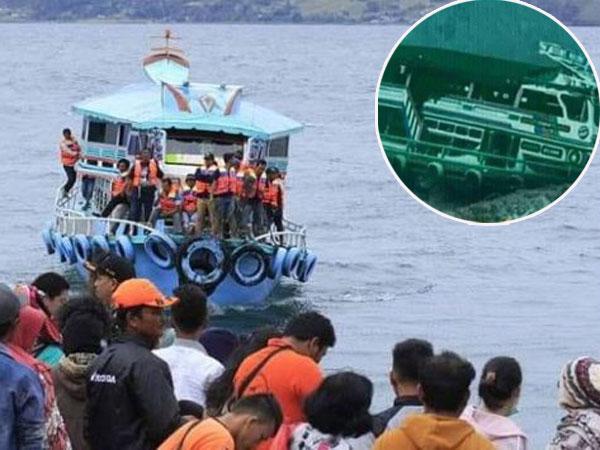 Awas Hoax Lagi! Konfirmasi Foto Palsu KM Sinar Bangun di Dasar Danau Toba