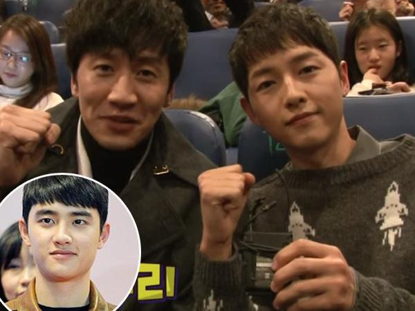 Beri Dukungan Untuk D.O, Lee Kwang Soo dan Song Joong Ki Hadiri Premier 'Pure Love'