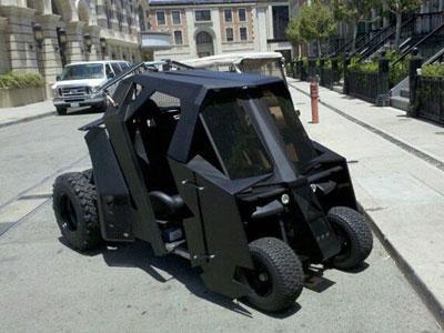 Mobil Golf Ini Dimodifikasi Gaya Kendaraan Batman