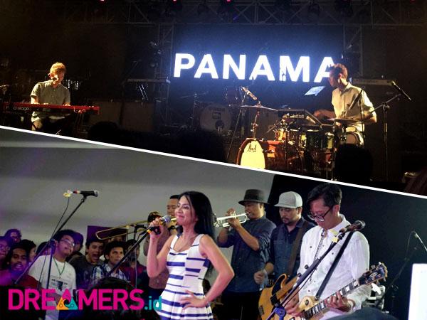 Panama Hingga Mocca Sukses Ramaikan Panggung 6th Music Gallery