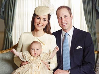 Ini Dia Foto-foto Resmi dari Upacara Baptis Pangeran George!