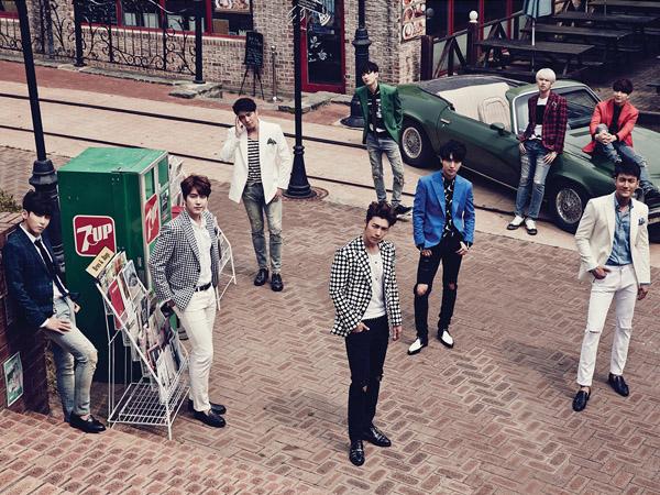 Super Junior 'Tersihir' Seorang Wanita Cantik di Video Musik 'Magic'