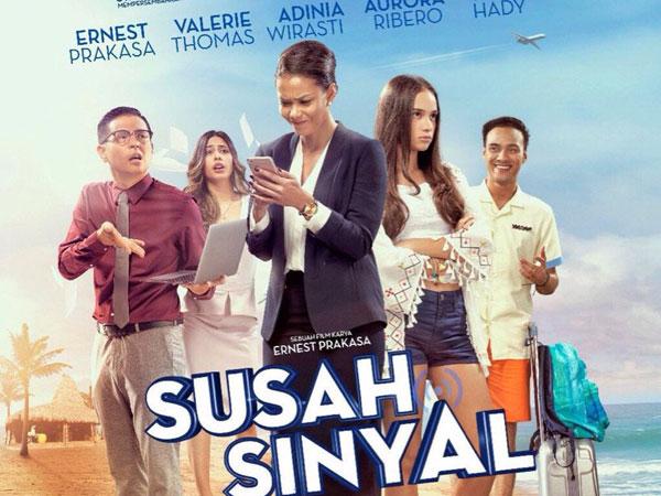 Alasan Menarik Film Ernest Prakasa 'Susah Sinyal' Bisa Disaksikan di Iflix!