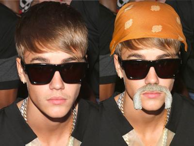 Tampil Pakai Kumis, Justin Bieber Jadi Bahan Lelucon