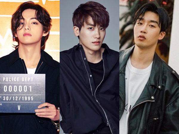V BTS dan Park Hyungsik Dikabarkan Bintangi MV Baru Peakboy