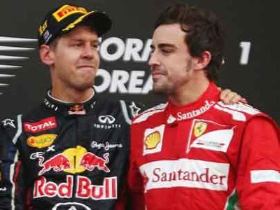 Ferrari Enggan Duetkan Vettel dan Alonso