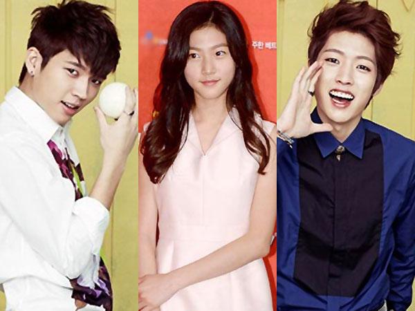Woohyun, Sungyeol Infinite & Kim Sae Ron Seru-seruan Dalam Sesi Foto Drama 'High School'