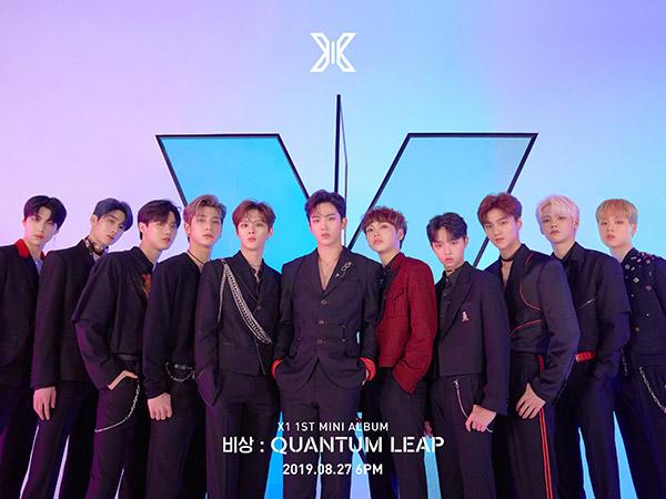 X1 Resmi Debut dengan Lagu 'FLASH', Super Kece!