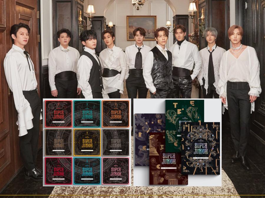 Album Baru Super Junior Dirilis dalam 13 Versi, Fans Bingung