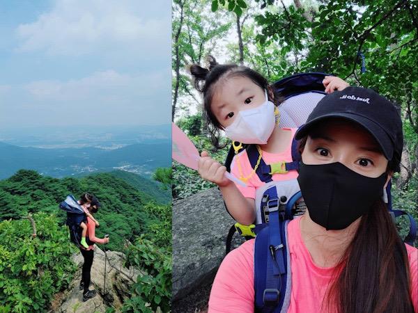 Lee Si Young Naik Gunung Sambil Gendong Anak, Daebak