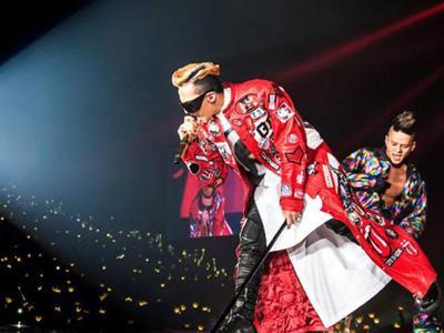 G-Dragon Sukses Hibur 20 Ribu Fans di Thailand!