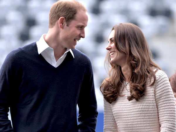 Manisnya Momen Saling Goda dan Iseng Antara Pangeran William & Kate Middleton