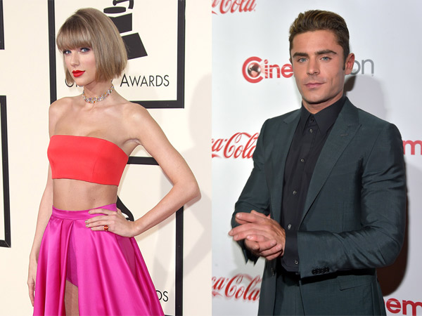 Lepas dari Tom Hiddleston, Taylor Swift Mulai Incar Zac Efron?