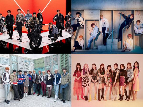 Gaon Chart Rilis Daftar 10 Artis dengan Penjualan Album Fisik Terlaris Sejak 2010