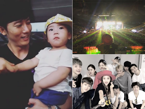 YG Family Hingga Rohee 'Superman Returns' Terlihat Saksikan Konser 10 Tahun Big Bang!