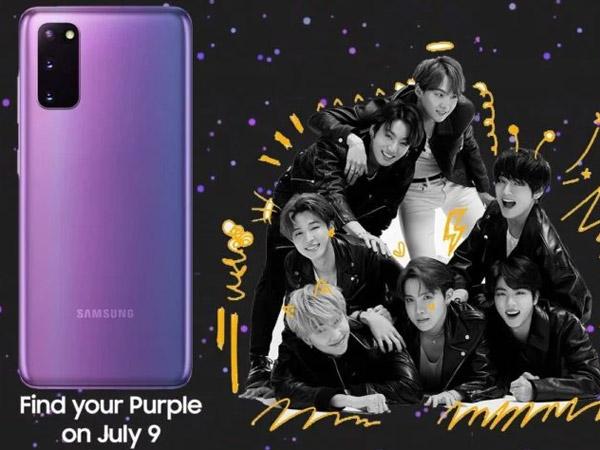 Samsung Akan Rilis Galaxy S20+ BTS Edition, Catat Tanggal PO-nya!