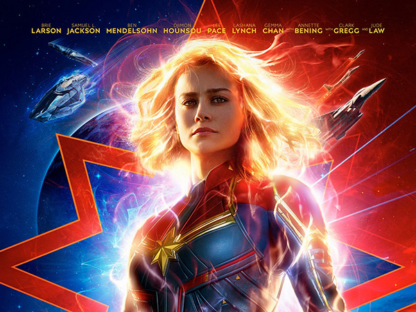'Captain Marvel' Sukses Puncaki Tangga Box Office Raih Keuntungan Triliunan di Minggu Pertama