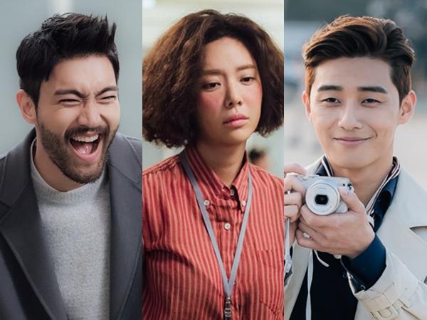 Aksi Kocak nan Romantis Siwon vs Park Seo Joon Demi Hwang Jung Eum di Drama She Was Pretty