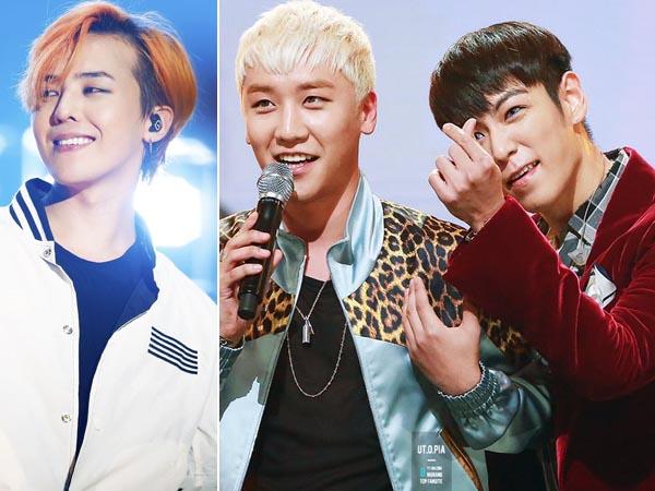 Manisnya, G-Dragon Lagi-Lagi Pamer 'Bromance' Antar Member Big Bang