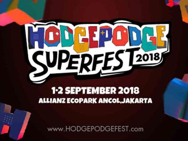 Intip Line Up 'Hodgepodge Superfest 2018' yang Janjikan Konsep Unik Berbeda di Festival Musik