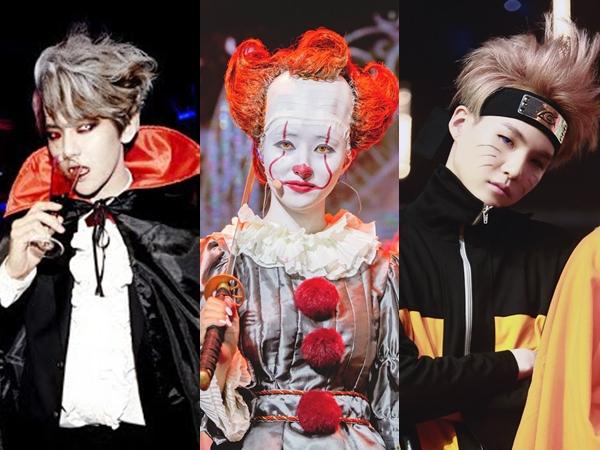 Deretan Penampilan Halloween Idola K-Pop Paling Totalitas dan Ikonik