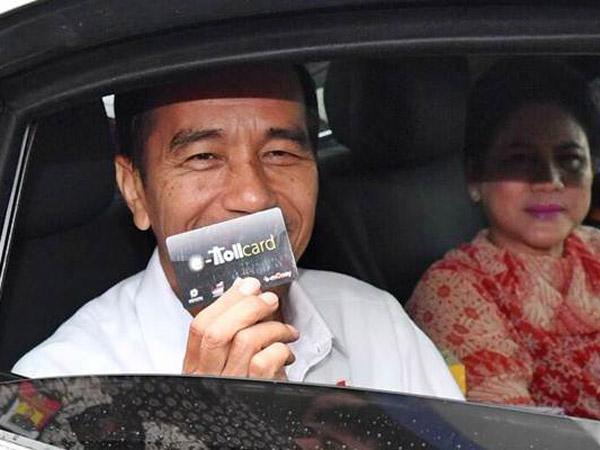 Sederet Alasan Penting Mengapa Jokowi Canangkan Bayar Non-Tunai di Gerbang Tol