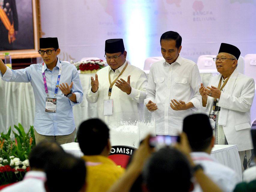 Bocoran Debat Antar-Koalisi Mengenai Visi Misi Jokowi-Ma'ruf Vs Prabowo-Sandi