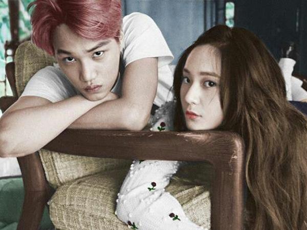 Netizen Hebohkan Beredarnya Foto Diduga Kai dan Krystal Mesra di Kolam Renang Hotel!