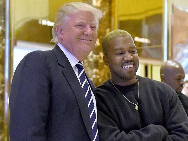 Usai Dirawat karena Gangguan Mental, Kanye West Temui Donald Trump