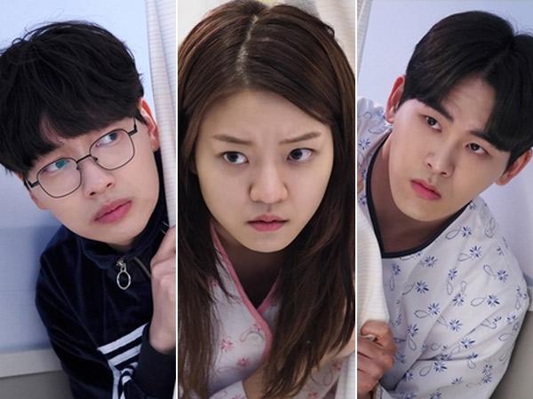 Lee Dong Hwi, Go Ah Sung, dan Hoya Infinite Penuh Curiga di Potongan Gambar 'Glowing Office'