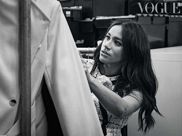 Jadi Editor Majalah Vogue, Meghan Markle Dituduh Jiplak Ide Cover Buku Australia