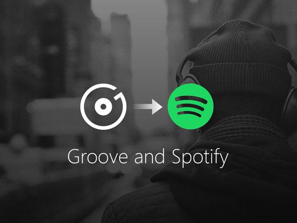 Microsoft Gandeng Spotify Usai Matikan Layanan Streaming Musik Eksklusifnya