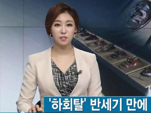 Tunjukkan Profesionalitas, Netizen Korea Dibuat Kagum Oleh Pembawa Berita di Tengah Gempa Ini