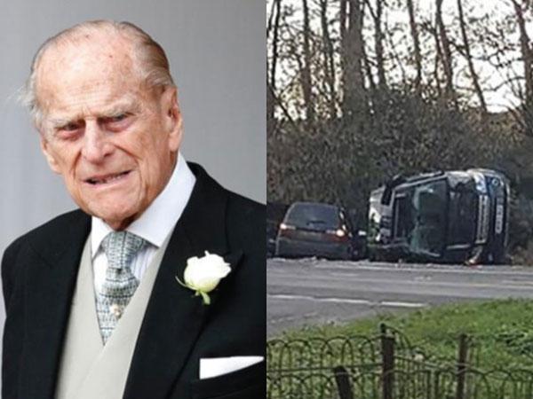 Kecelakaan Mobil di Usia Hampir Seabad, SIM Suami Ratu Elizabeth II Dipertanyakan