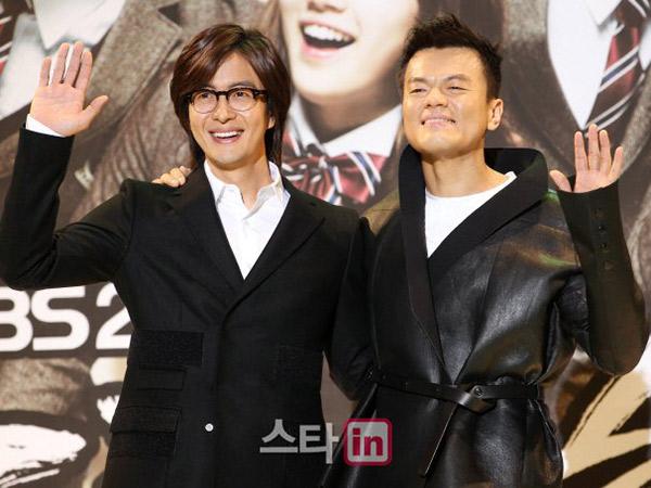 Dispatch Beberkan Bukti Dugaan Park Jin Young dan Bae Yong Joon Jadi Pengikut Aliran Sesat