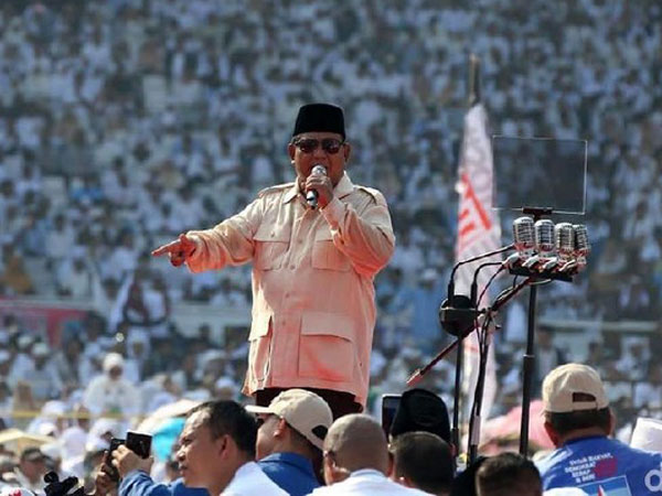 Beda Lagi, Rilis Pers Klaim Prabowo-Sandi Menang 71 Juta Suara