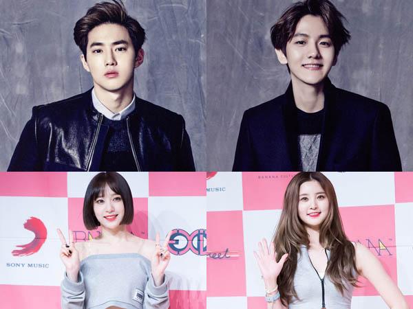 Tak Kalah Seru, Member EXO dan EXID ini Siap Memandu Acara 'Inkigayo' Minggu Ini !