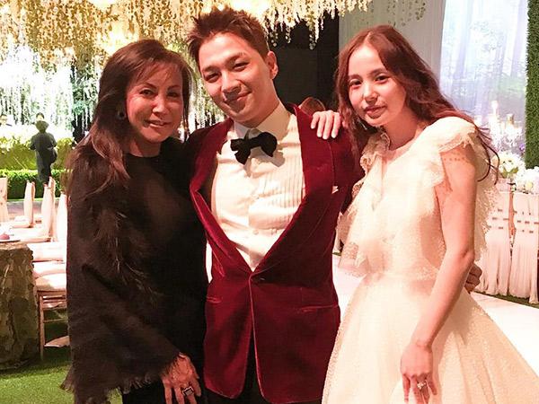 Potret Bahagia Taeyang dan Min Hyo Rin di Hari Pernikahannya, Serasi Banget!